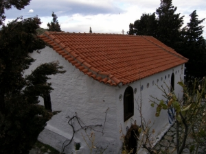 Church of Christ, Hotel  Hermes Skiathos | Studios | Apartments | Skiathos Island | Greece